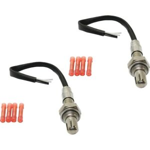 Set Of 2 O2 Oxygen Sensors Left Hand Side Downstream Upstream For Chevy Pair