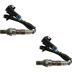Pair Set Of 2 O2 Oxygen Sensors Front Rear Left And Right Downstream Upstream
