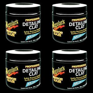 Meguiars C2000 Paint Cleaner Mirror Glaze r Clay Bar 200 Gram Bar 4 Pack