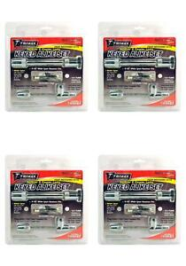 Trimax Locks Tm5123 Trailer Hitch Pin Barbell Type With Key Lock 4 Pack