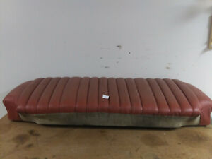 Mercedes Benz W120 Rear Seat Bottom 101209200220 Mbtex W105 W121 Red Ponton