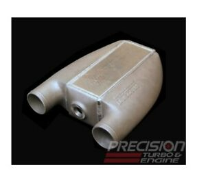 Precision Universal 1000hp Water To Air Intercooler Pt1001 Cast End Tanks