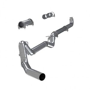 Mbrp Stainless 4 Straight Pipe Exhaust For 2001 2007 Silverado Sierra Duramax