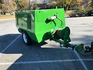 Sullair 185 Cfm Diesel Air Compressor Portable Towable 3253 Hrs In Maryland