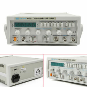 0 1hz 10mhz Signal Generator Counter Arbitrary Sine Square Triangle Wave Lw1643