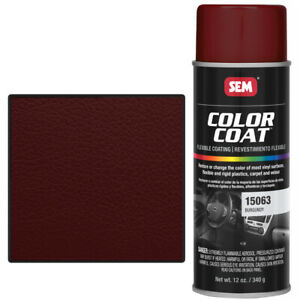 Sem 15063 Burgandy Vinyl Paint Color Coat