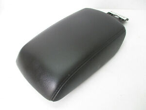 Ford Focus Center Console Arm Rest Lid Top Pad Cover Black Leather 12 14