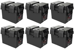 Noco Hm300bk Battery Box Snap Top Fits Group 24 Batteries 6 Pack