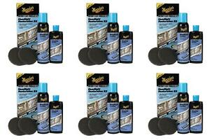 Meguiars G2970 Headlight Restoration Kit Two Step 6 Pack