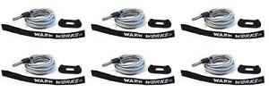 Warn Industries 76065 Winch Cable For Warn Pullzall Winches 6 Pack