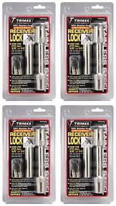 Trimax Locks Sxts32 Trailer Hitch Pin Barbell Type With Key Lock 4 Pack