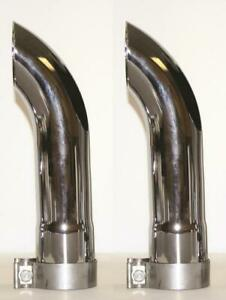 Ap Products Ctd 3000 Exhaust Side Pipe Turnout 3 Inch Inlet Diameter 2 Pack