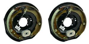 Tekonsha 54801 007 Trailer Brake Assembly Electric Trailer Brake Kit 2 Pack