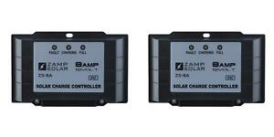 Zamp Solar Zs 8aw Battery Charger Controller 2 Pack