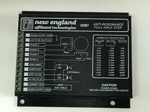 New England Affiliated Technologies Sdm7 Anti resonance Stepping Motor Drive