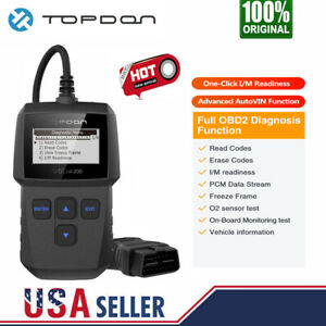 Obd2 Scanner Car Engine Code Reader Eobd Auto Diagnostic Scan Tool Clear Faults