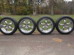 Antera Lombardia 19 Chrome Wheels Rims 8jx19 H2 Et18 With Continental Tires
