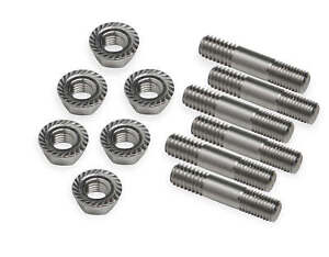 Weiand 6993 Stainless Steel Studs For Chevy B B 177