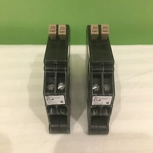 2 New Cutler Hammer Cht2020 1 Pole 20 20a 120v Tandem Circuit Breakers Freeship