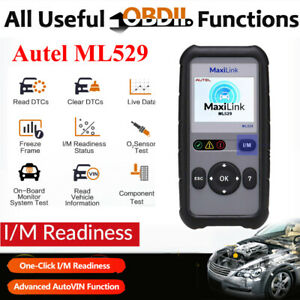 Autel Heavy Duty Truck Hd Auto Scanner Obd2 Car Diagnostic Scan Tool Data Print