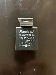 Foocle 24 Volts Relay 5 Pins For Automobile Boat