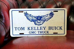 Vintage Gm Chevrolet Buick Gmc Truck Promo Vintage License Plate Falcon Eagle