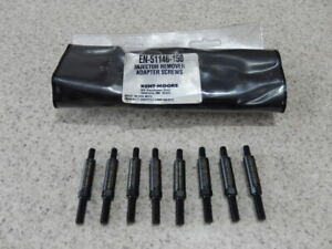 Kent Moore En 51146 150 Injector Remover Adapter Stud Kit Set Of 8 Tool