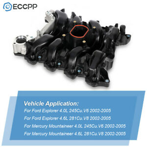 New Engine Intake Manifold For 2002 2005 Ford Explorer Mercury Mountaineer