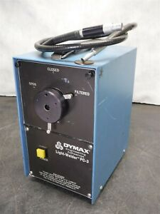 Used Dymax Light Welder Pc 3 Uv Light Source No Foot Pedal K9