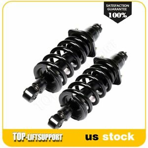For 2003 2011 Honda Element Rear Pair Complete Shocks Struts W Springs Assembly