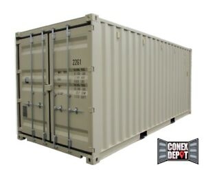20ft New One Trip Shipping Container For Sale In Chicago Il We Deliver