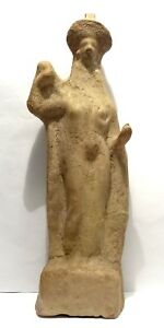 Large Figure Greek South Italy 400 200 Bc Ancient Greek Tanagra Figure