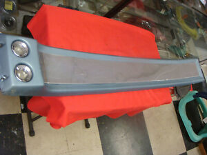 Original 1967 1968 Mustang Coupe Overhead Console Gta 390 Blue Color Deluxe