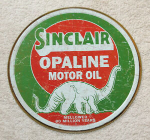 Sinclair Opaline Motor Oil Vintage Style Metal Signs 12 Man Cave Decor Snapon