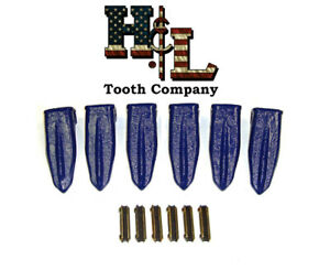 230st H l Original Star Bucket Teeth 6 Pack Forged In The Usa 23fp Flexpins
