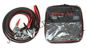 Heavy Duty 25 Ft 2 Gauge 600 Amp Emergency Jumper Cable Booster Jump Start