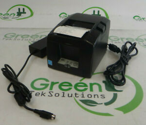 Star Micronics Tsp654ii Parallel Direct Thermal Receipt Printer W Adapter
