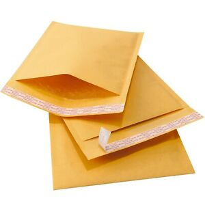 Kraft Bubble Mailers Padded Envelopes Protective Packaging Bubble Ecopak Brand