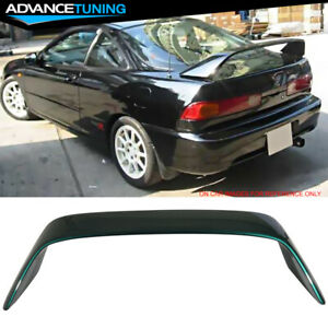 94 01 Integra Dc2 Type r Oem Painted g95p Clover Green Pearl Trunk Spoiler