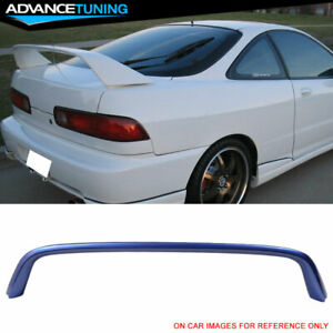 Fits 94 01 Integra Type r Trunk Spoiler Oem Painted b97m Voltage Blue Metallic