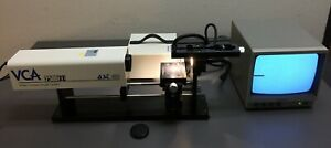 Ast Vca 2500xe Video Contact Angle System With Video Monitor Illuminator