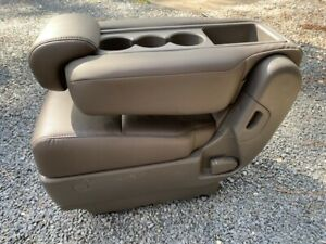 2011 2012 2013 2014 2016 Honda Odyssey 2nd Row Middle Seat Jump Leather Gray