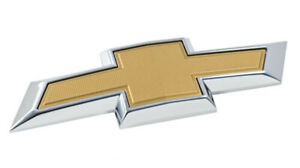 For 2011 14 Chevy Cruze Front Bumper Emblem Gold Grille Badge Grill Symbol Logo