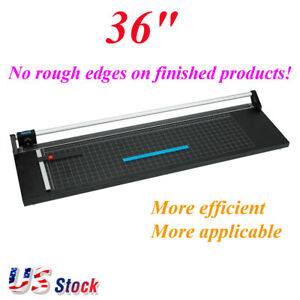 36 Inch Efficient Precision Rotary Paper Trimmer Photo Paper Cutter Us Stock