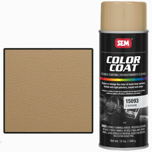 Sem 15093 Light Buckskin Color Coat Vinyl Paint
