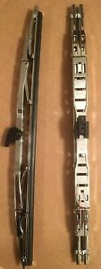 Chrome Dual 18 Wiper Blade For Smooth Safer Driving 1 Pair