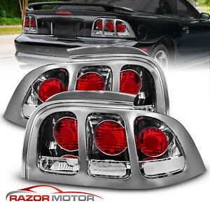 1994 1995 1996 1997 1998 Ford Mustang Factory Style Rear Brake Tail Lights Pair