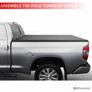 Assemble Lock Tri fold Tonneau Cover For 2009 2018 Dodge Ram 1500 With 6 5ft Bed