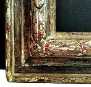24 X 31 Vintage Distressed Reverse Carved Chiseled Picture Frame 3 3 4 Wide