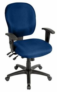 Eurotech Seating Racer Fm4087 navy Midback Swivel Chair Navy